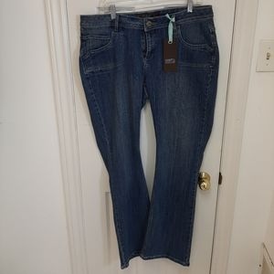 Blue jeans with stretch size 16